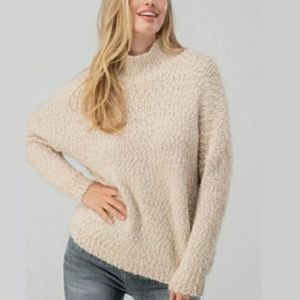 NWT DREAMERS BY DEBUTE | MOCKNECK KNIT SWEATER